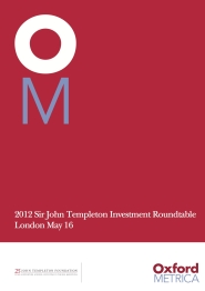TEMPLETON FOUNDATION 2012