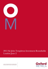 TEMPLETON FOUNDATION 2011
